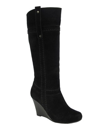Black Stitched Bonita Boot