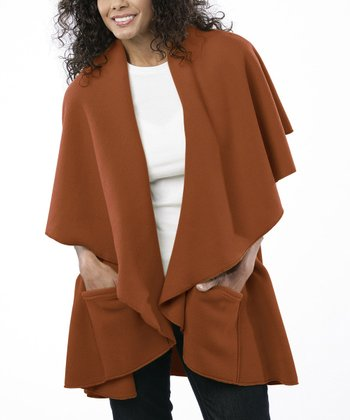 Pumpkin Spice Annie's Fleece Wrap