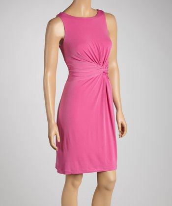 Azalea Knot-Front Dress