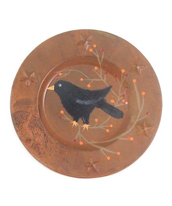 Crow Decorative Plate