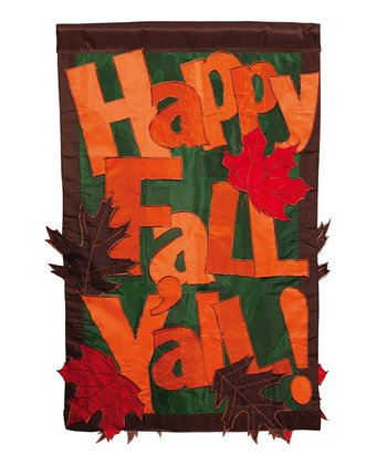 'Happy Fall Y'all' Flag