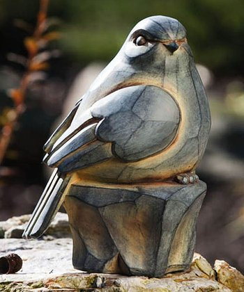 Carved Bird Statue