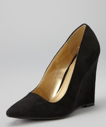 Black Lucia Wedge