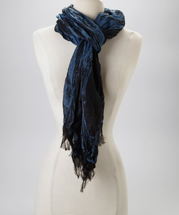 Dark Blue & Black Scarf