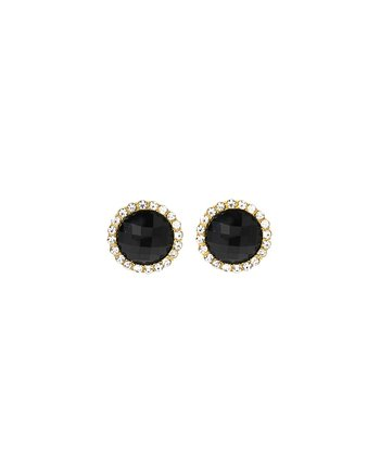 Jet Black Crystal Bridgehampton Earrings
