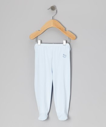 Blue Rocking Horse Footie Pants - Infant