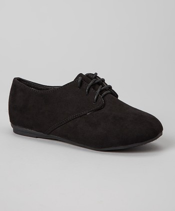 Anna Shoes Black Karil Oxford