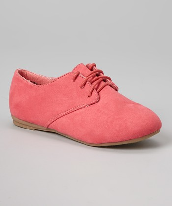 Anna Shoes Pink Karil Oxford