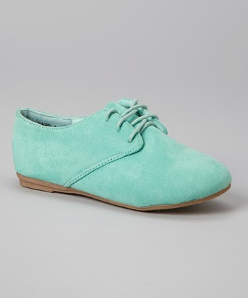Anna Shoes Mint Karil Oxford