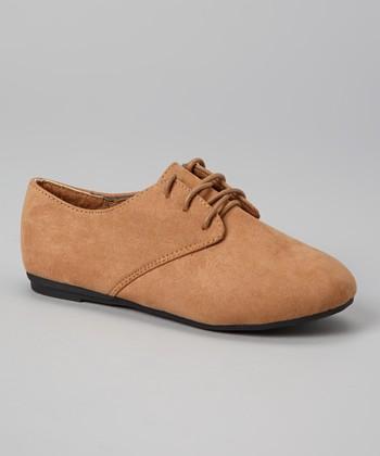 Anna Shoes Tan Karil Oxford