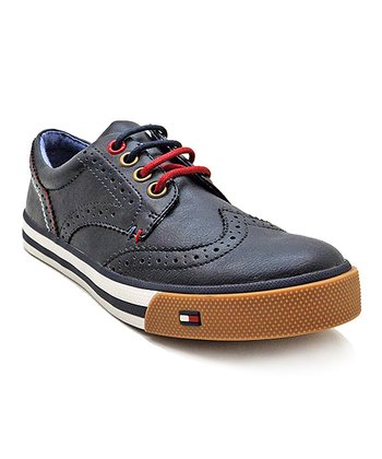 Navy Dennis Spectator Lace-Up Shoe