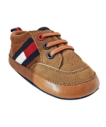 Brown Mini Flag Shoe