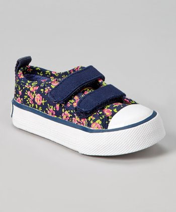Navy & Pink Ashley Shoe