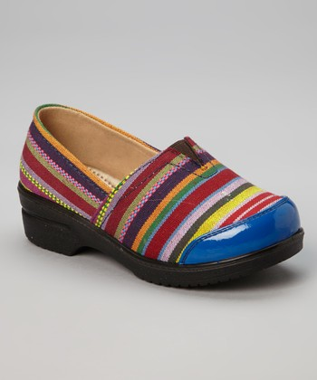Blue Stripe Danny Clog - Kids
