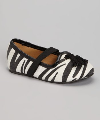 White Zebra Cindy Loafer