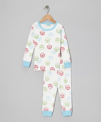 Ivory Wheaton Pajama Set - Toddler & Girls