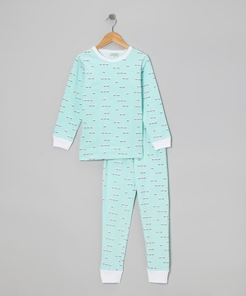 Sleepy Owls Pajama Set - Toddler & Girls