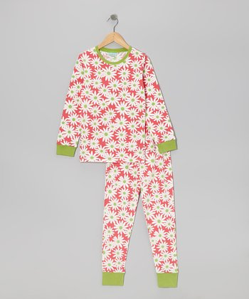 Our Town Daisy Pajama Set - Toddler & Girls
