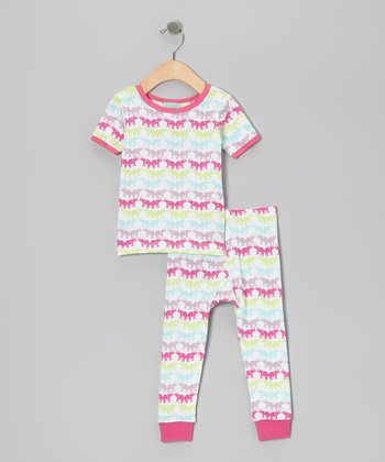 Big Top Short-Sleeve Pajama Set - Infant