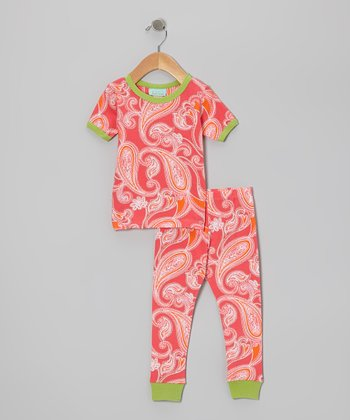 Hawaiian Paisley Pajama Set - Infant