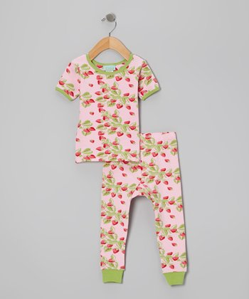Strawberry Fields Short-Sleeve Pajama Set - Infant