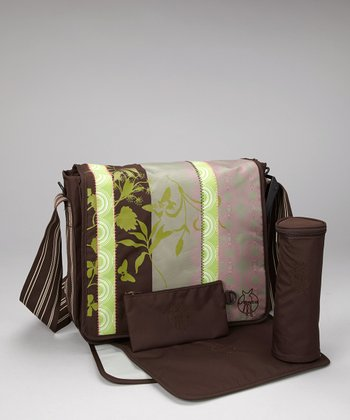 Colorpatch Choco Messenger Diaper Bag