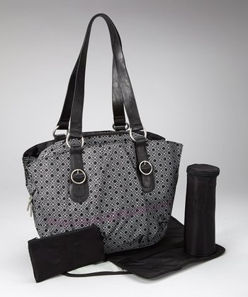 Black Glam Whizzy Diaper Bag