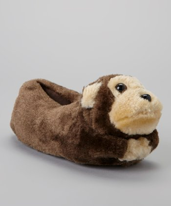Brown Monkey Slipper