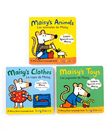 Maisy English/Spanish Board Book Set