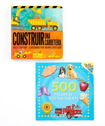 Words & Trucks Spanish Book Set