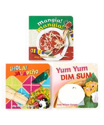 World Foods Board Book Set