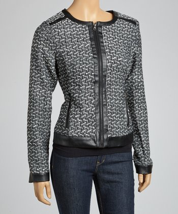 Charcoal Zipper Jacket