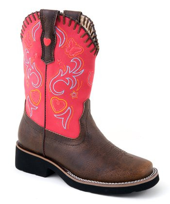 Brown Fancy Riderlite2 Cowboy Boot
