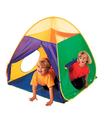 Green & Blue Mega Pop-Up Tent