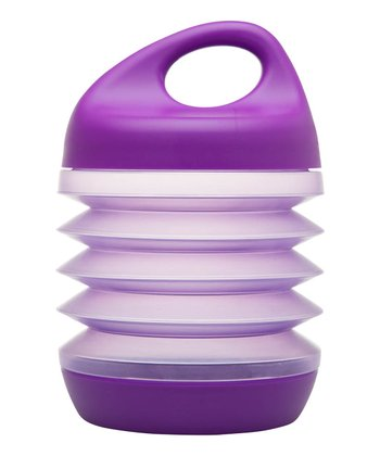 Purple Expandable 24-Oz. Snack Container