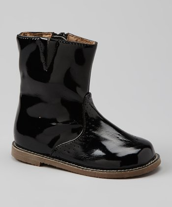 Black Patent Hearts Boot