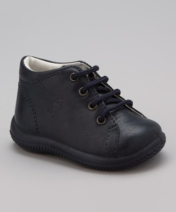 Navy Vic Shoe