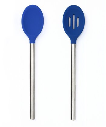 Blue Stratus Spoon Set
