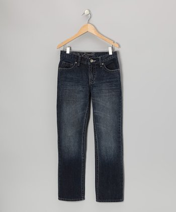 Dark Wash Varick Jeans - Boys
