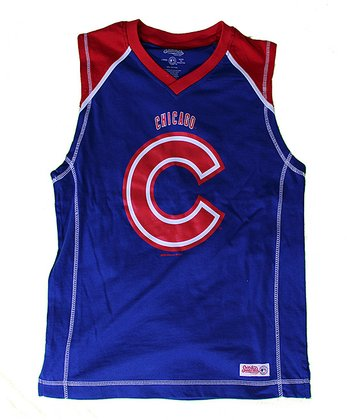 Royal & Red Chicago Cubs Tank - Boys