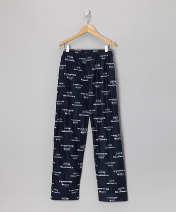 Blue Seattle Seahawks Pajama Pants - Boys