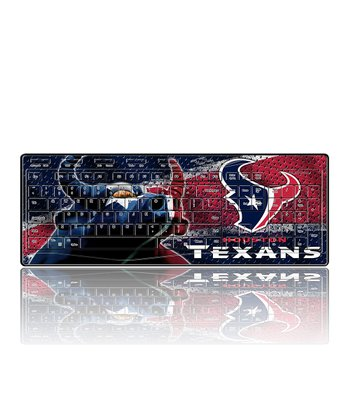 Houston Texans Wireless Keyboard