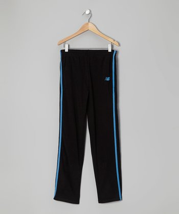 Black & Blue Track Pants - Toddler & Boys