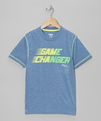 Blue 'Game Changer' Tee - Boys