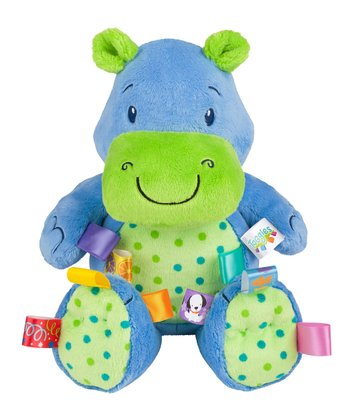 Blue Fun Lovin' Pal Hippo
