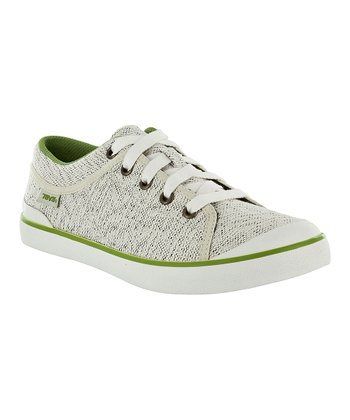 Beige Freewheel Canvas Sneaker - Women