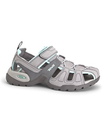 Light Gray Forebay Sport Sandal - Women