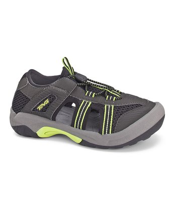 Black Omnium 2 Closed-Toe Sandal - Kids
