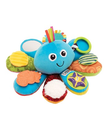 Blue Octivity Time Plush Toy