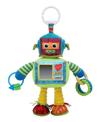 Green Rusty the Robot Plush Toy